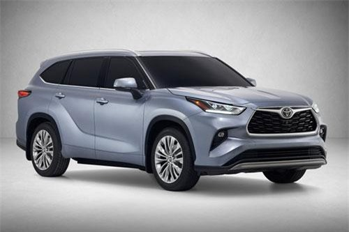6. Toyota Highlander 2020 (giá chưa công bố).