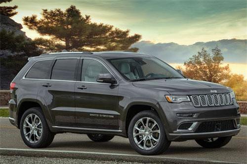 7. Jeep Grand Cherokee 2019 (giá khởi điểm: 31.945 USD).