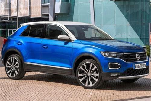 8. Volkswagen T-Roc (doanh số: 25.656 chiếc).