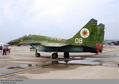 Tiêm kích MiG-29S của Không quân Moldova
