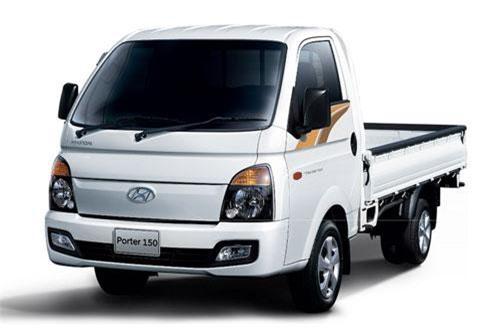 2. Hyundai Porter (doanh số: 43.916 chiếc).
