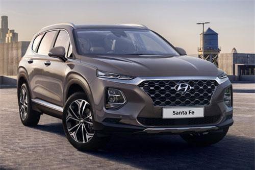 4. Hyundai Santa Fe (doanh số: 35.896 chiếc).