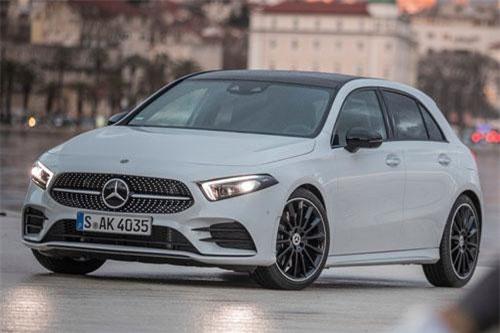 5. Mercedes-Benz A-Class (doanh số: 3.735 chiếc).