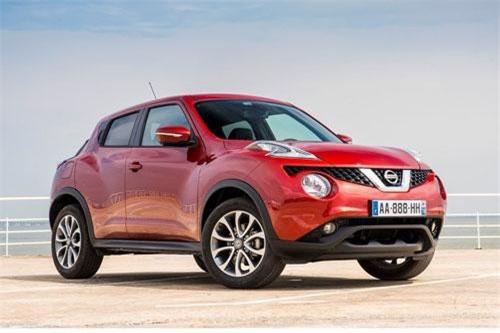 8. Nissan Juke (doanh số: 2.978 chiếc).