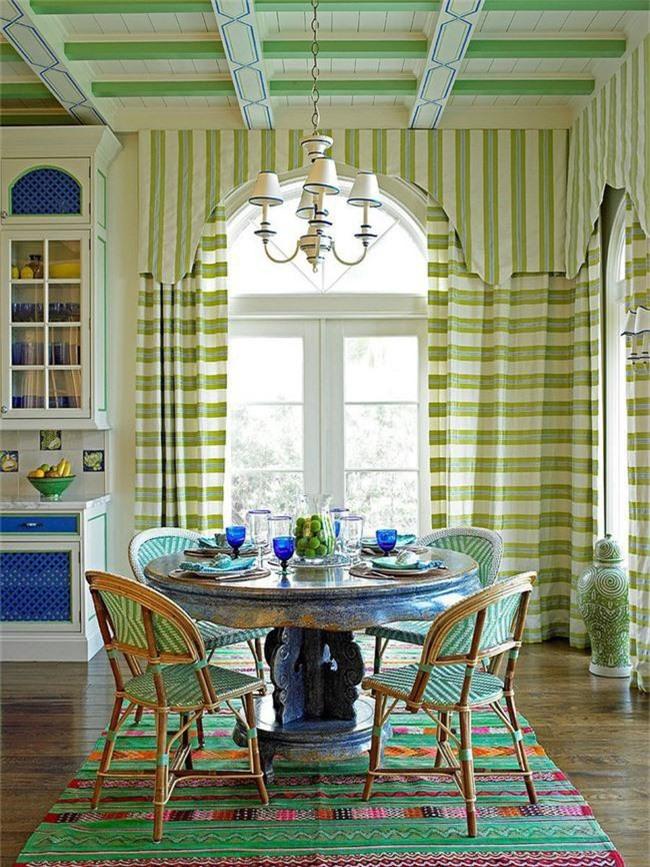 Xu hướng thiết kế phòng ăn màu xanh lá cây phong cách tươi mới lại dễ chịu, hợp thời - Ảnh 5.