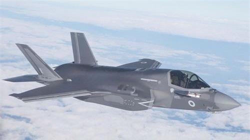 Tiêm kích tàng hình F-35A Lightning II của Không quân Hoàng gia Anh