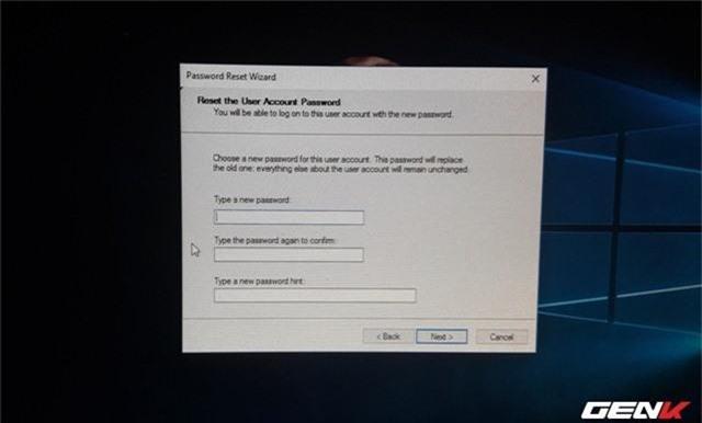 Cách khôi phục lại mật khẩu đăng nhập trên Windows 10 May 2019 - Ảnh 12.