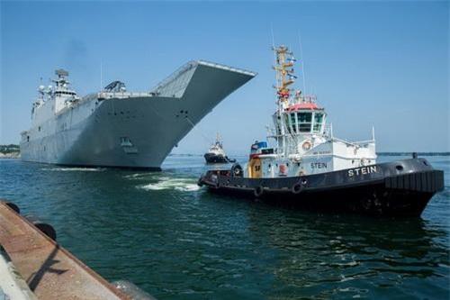 Tàu chiến NATO tham gia cuộc tập trận chung mang tên BALTOPS