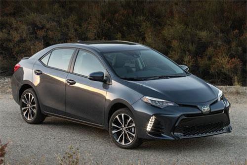 10. Toyota Corolla (doanh số: 123.999 chiếc).