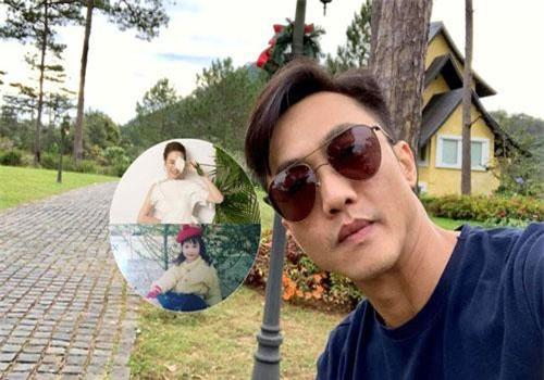 Cường Đô La đăng tải hai bức ảnh Đàm Thu Trang lên trang cá nhân