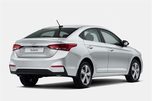 5. Hyundai Solaris (doanh số: 24.687 chiếc).
