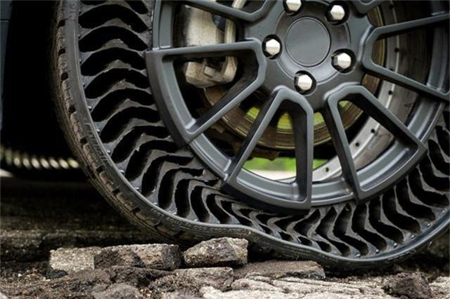 Lốp không hơi: Lựa chọn lý tưởng thúc đẩy ngành công nghiệp ô tô tương lai - Ảnh 2.