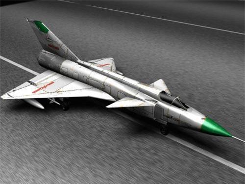 Đồ họa tiêm kích đánh chặn Chengdu J-9 của Trung Quốc