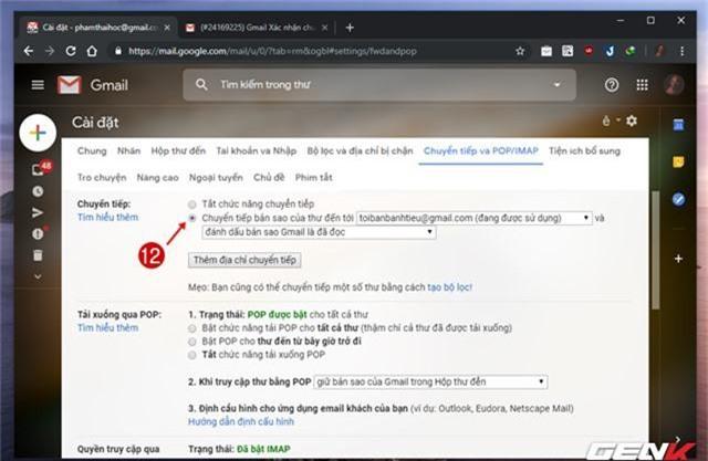 Giải pháp di chuyển toàn bộ mail từ Gmail cũ sang tài khoản mới - Ảnh 15.