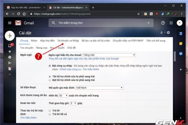 Giải pháp di chuyển toàn bộ mail từ Gmail cũ sang tài khoản mới - Ảnh 8.