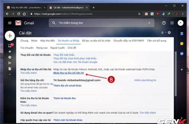 Giải pháp di chuyển toàn bộ mail từ Gmail cũ sang tài khoản mới - Ảnh 9.