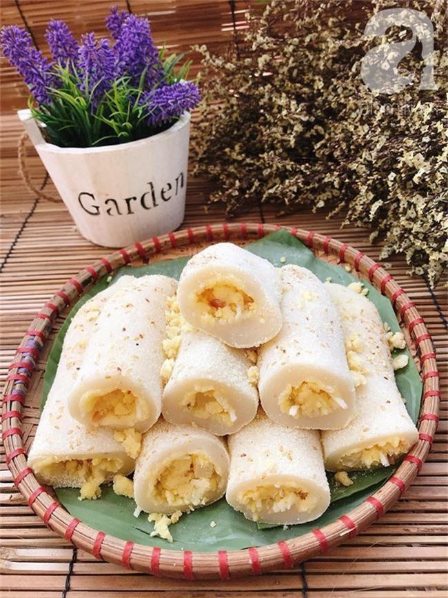 Bánh dày đỗ - món bánh dẻo thơm dân dã dù bao sơn hào hải vị cũng chẳng sánh bằng - Ảnh 8.