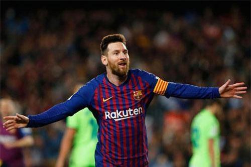 1. Lionel Messi (Barcelona). Tổng thu nhập: 127 triệu USD/năm.