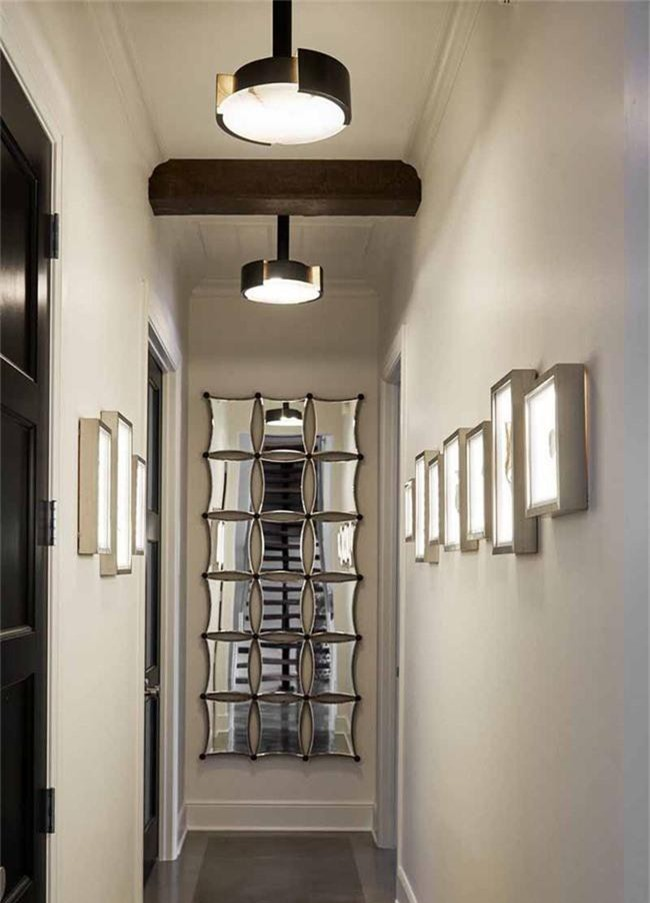 Ghi lại ngay vài tuyệt chiêu trang trí để lối hành lang của gia đình không còn nhàm chán - Ảnh 3.