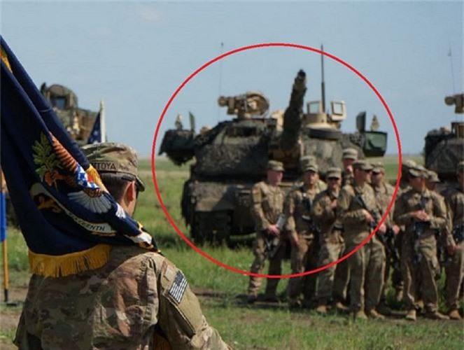 Truyen thong My day song ve phien ban M1 Abrams bi an tai Romania