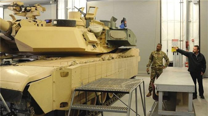 Truyen thong My day song ve phien ban M1 Abrams bi an tai Romania-Hinh-5