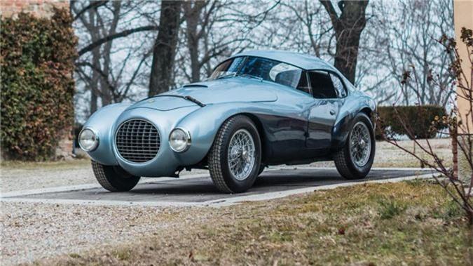 """Ferrari 166 MM/212 Export """"Uovo"""" 1950."""