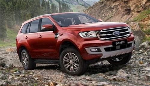 SUV 7 chỗ Ford Everest.