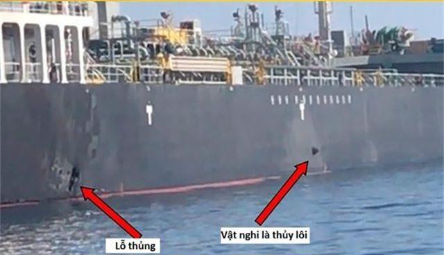 """""""Giải mã"""" vũ khí nghi được sử dụng tấn công tàu dầu tại vịnh Oman - 2"""