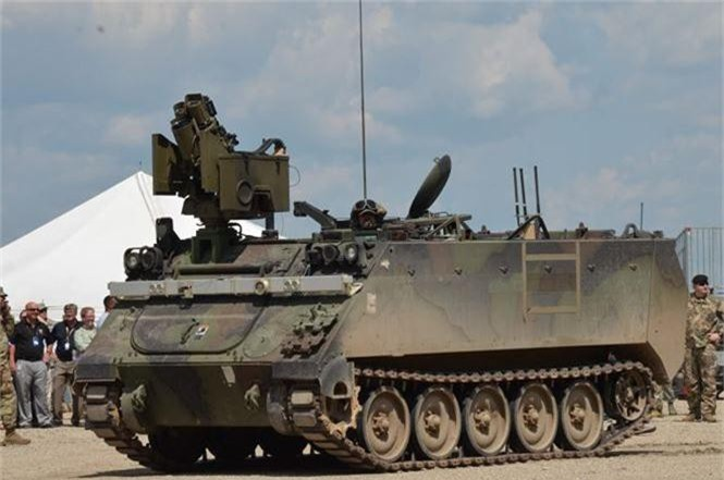 pháo tự động bắn nhanh chính xác xe tăng bọc thép tên lửa - ảnh 1