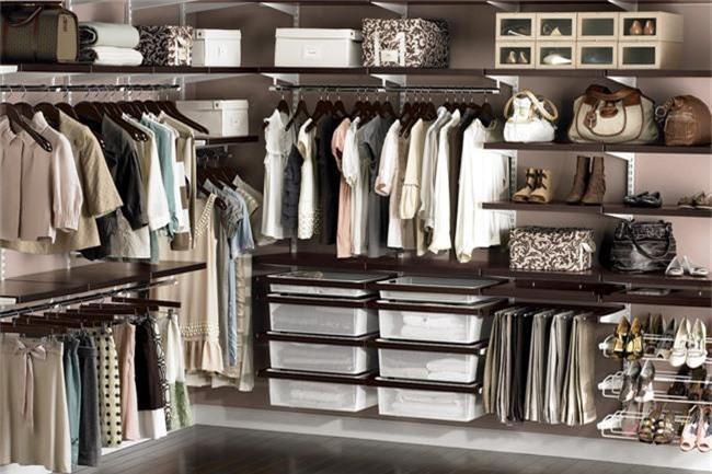 Những gợi ý nhỏ cho phòng thay quần áo sang chảnh hết cỡ - Ảnh 4.