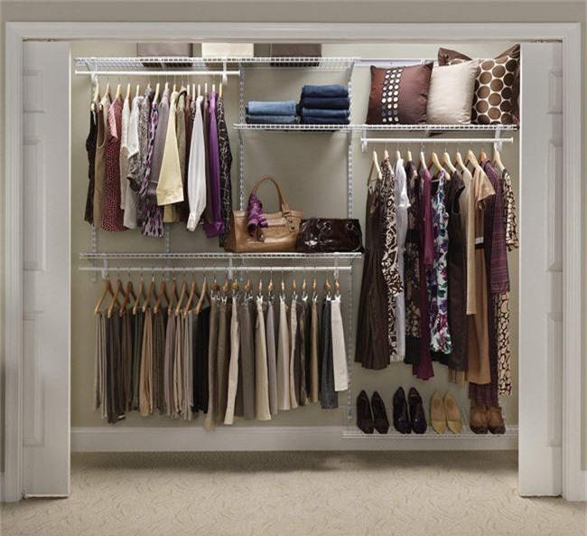 Những gợi ý nhỏ cho phòng thay quần áo sang chảnh hết cỡ - Ảnh 7.