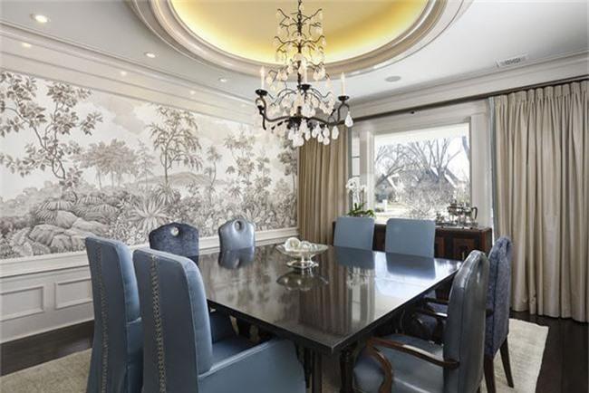 Những thiết kế phòng ăn dành riêng cho những gia đình yêu thích phong cách cổ điển - Ảnh 13.