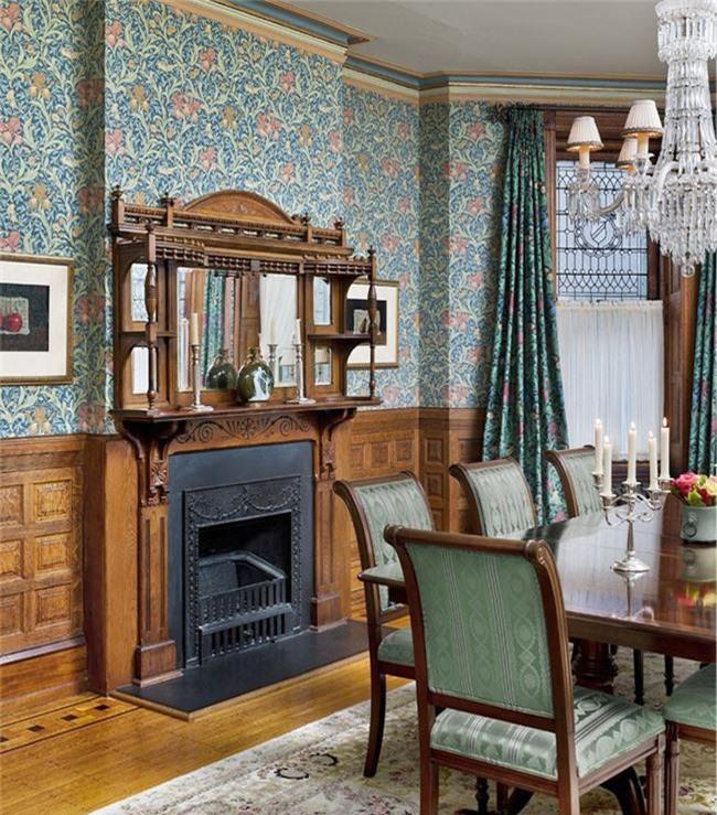 Những thiết kế phòng ăn dành riêng cho những gia đình yêu thích phong cách cổ điển - Ảnh 15.