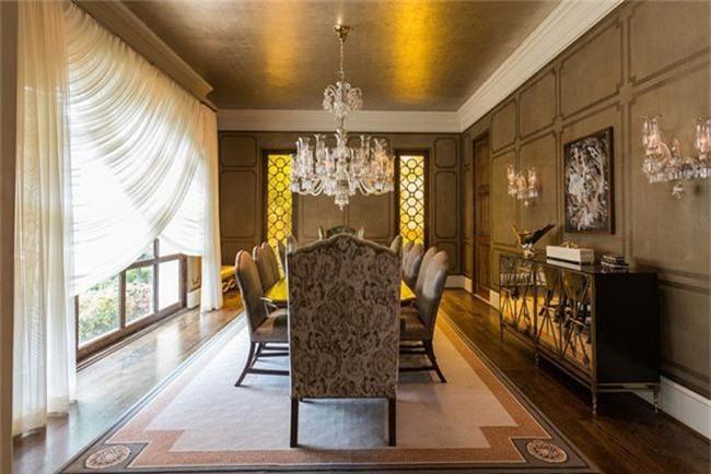 Những thiết kế phòng ăn dành riêng cho những gia đình yêu thích phong cách cổ điển - Ảnh 16.