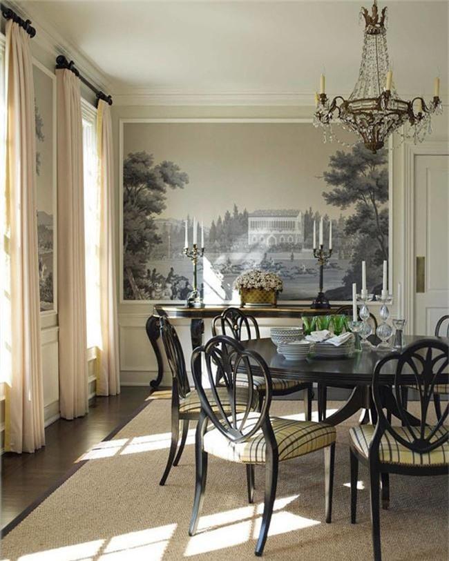 Những thiết kế phòng ăn dành riêng cho những gia đình yêu thích phong cách cổ điển - Ảnh 17.