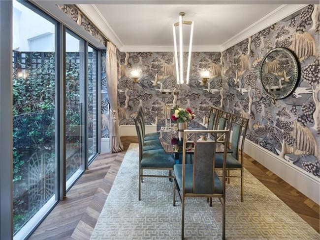 Những thiết kế phòng ăn dành riêng cho những gia đình yêu thích phong cách cổ điển - Ảnh 18.