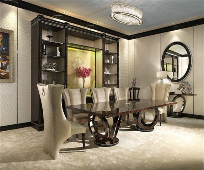 Những thiết kế phòng ăn dành riêng cho những gia đình yêu thích phong cách cổ điển - Ảnh 7.