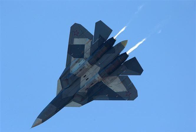 Tiêm kích Su-57.