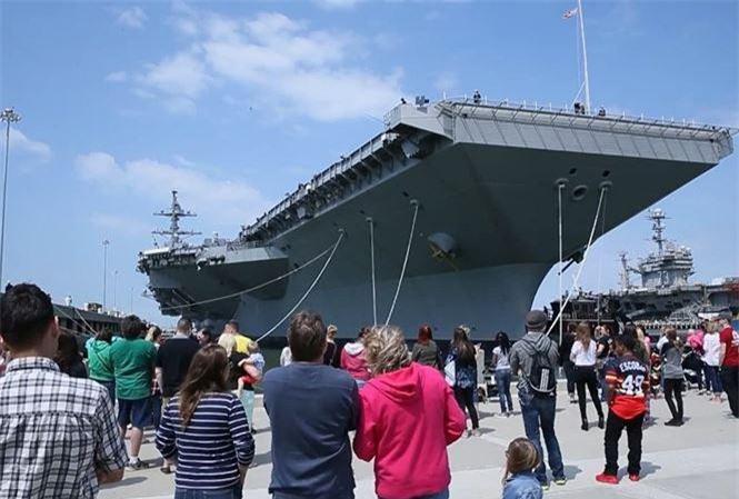 Tàu sân bay USS Gerald R. Ford.
