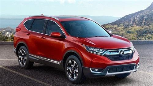 Honda CR-V dẫn đầu phân khúc crossover