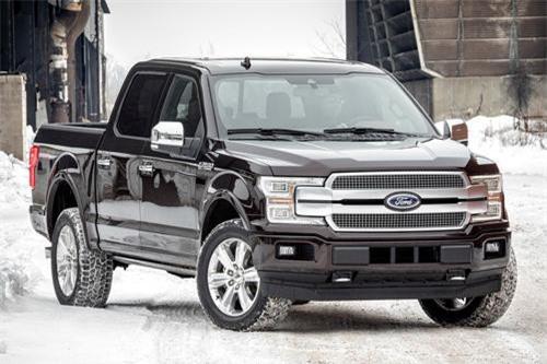 2. Ford F-Series (doanh số: 252.013 chiếc).