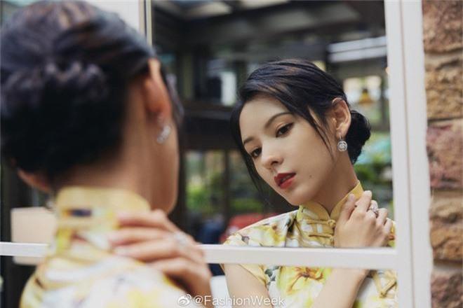 Một minh tinh Hoa ngữ gây náo loạn vì mặc sườn xám mê hoặc, góc nghiêng cực phẩm lấn át mỹ nhân Tây ở sự kiện quốc tế - Ảnh 6.