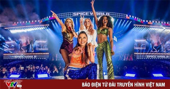 nhóm nhạc Spice Girls. Ảnh: vntintuc.net.