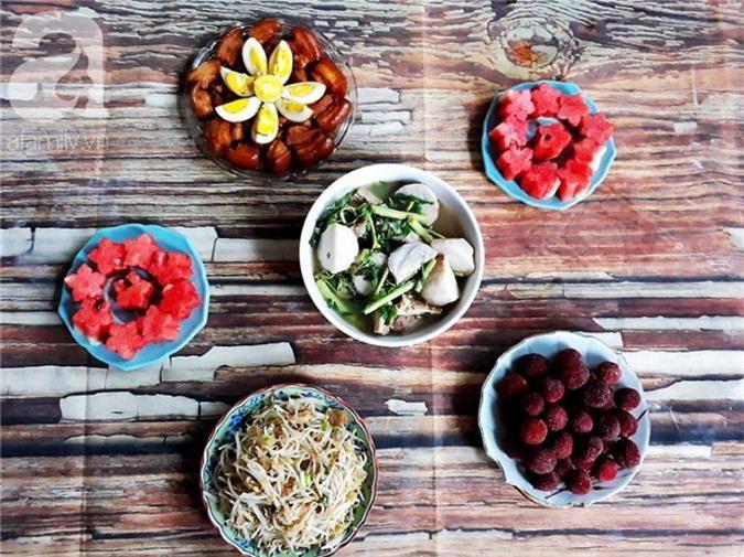 Bữa cơm mùa hè  - Ảnh 1.