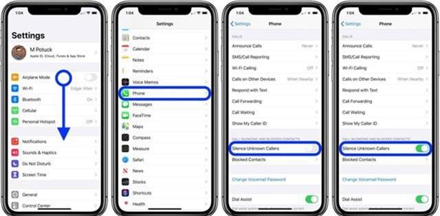 Cách tự động tắt tiếng cuộc gọi từ những số máy lạ trên iOS 13 - Ảnh 1.
