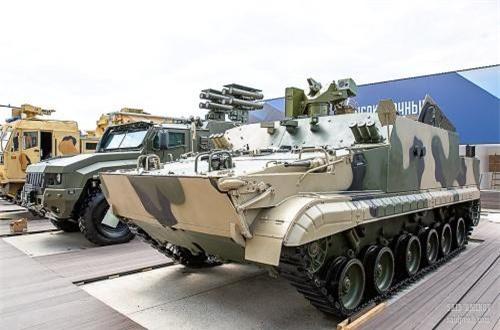 Xe thiết giáp chở quân đổ bộ đường không BTR-MDM. Nguồn ảnh: SAID AMINOV