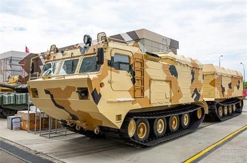 Xe thiết giáp chở quân – vận tải hàng hóa DT-30PM. Nguồn ảnh: SAID AMINOV