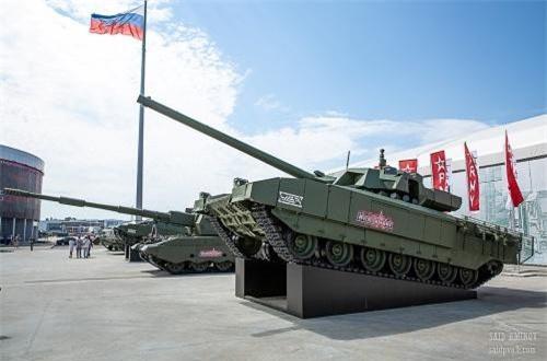 Xe tăng chủ lực T-14 Armata. Nguồn ảnh: SAID AMINOV