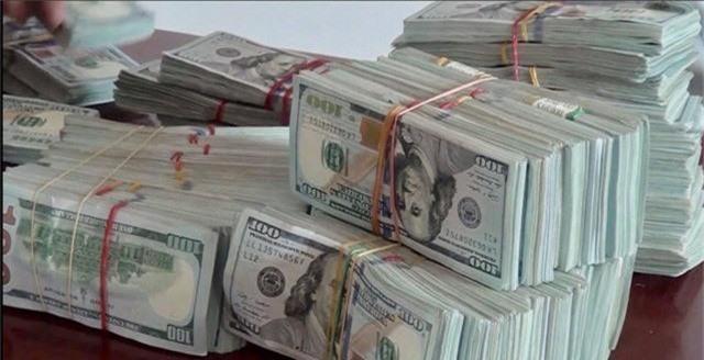 Bắt vụ vận chuyển 470.000 USD qua biên giới - Ảnh 1.