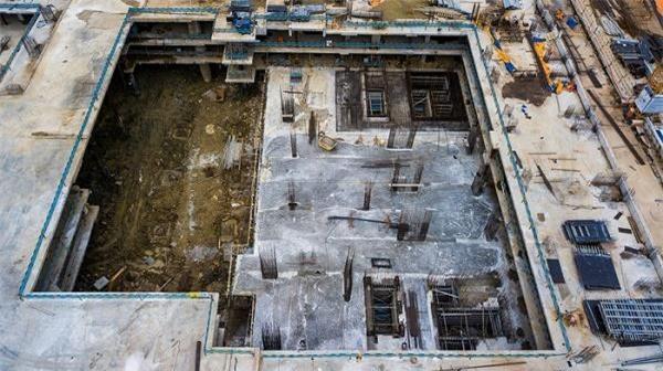 Công ty HDTC đã tổ chức thi công xây dựng công trình không có giấy phép